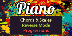 Piano Companion: chords, scales, progressions