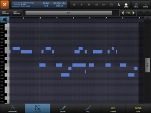 BM2's MIDI editing functions are fairly basic by desktop DAW standards but solidly implements and get the job done.