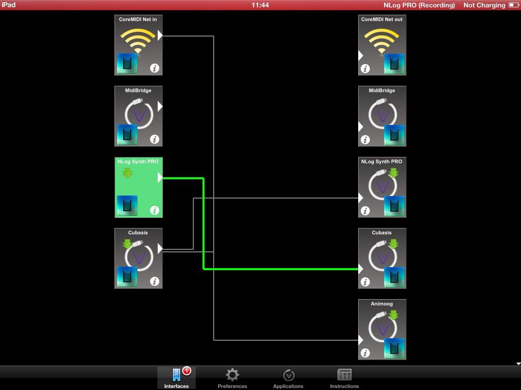 Audeonic's MidiBridge is a very useful utility app.