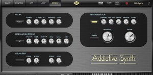 Addictive Synth's Control Effects page provides plenty of extra ear-candy options.