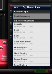 The re-amping feature in AmpKit is a neat tool, allowing you to tweak your tone after recording.