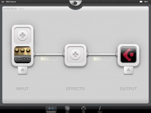 That's a nice sight - Amplitube now has Audiobus support.
