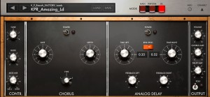 iMini's effects might be fairly limited in features but they sound excellent and are very easy to use.