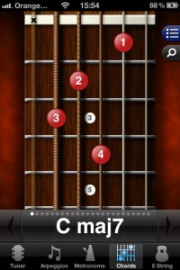 The Guitar Toolkit music app - brilliant selection of tools for strummers and pluckers.