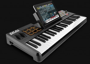 Akai make a range of iPad/iPhone friendly keyboards with different specs to suits different budgets.
