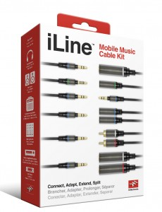 IK Multimedia's iLine cable set is a good place to start in terms of getting basic audio out of your iDevice and into other audio systems.