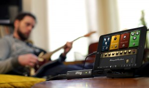 The iRig HD - great for personal practice but also capable in a live setting.