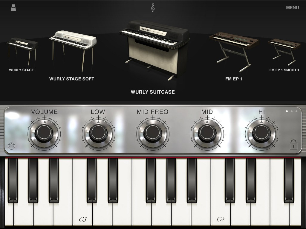 For electric piano sounds, iLectric is pretty hard to beat at present.