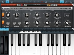 Micrologue is an excellent new addition to Cubasis and includes a good collection of virtual analog preset sounds.