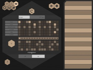 Chordion's pattern sequencer and arpeggiator are easy to use if not as fully featured as some.