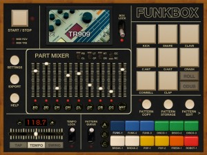 If your recordings need drums, then how about some classic beat-box sounds from Funkbox? I'd still like a really good sample-based virtual drum instrument though...
