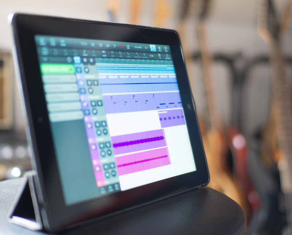 If the iPad is your first encounter with recording technology then 'lucky you' - with the right apps and a modest amount of additional hardware, you can build a very impressive recording system.