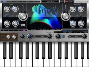 There are some excellent iOS synths to run with your iOS recording studio including Nave by Waldorf.