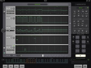 iOS also includes some fabulous MIDI tools such as Thesys (shown here) or Chordion.