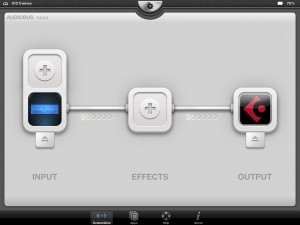 Arctic ProSynth supports Audiobus as an Input slot app.