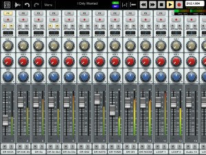 Auria's mixer is very well featured and the app also provides an excellent range of audio effects.
