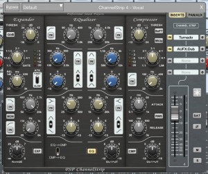 Being able to add effects such AUFX:Dub directly within Auria's insert effects system via IAA is a big step forward.