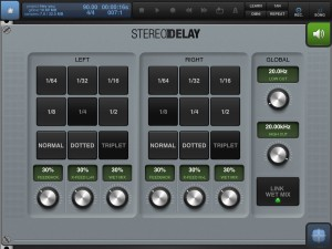 The new stereo delay effect is a welcome addition.