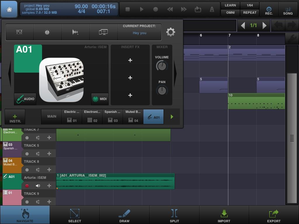 BeatMaker 2 now has IAA support for instrument apps.