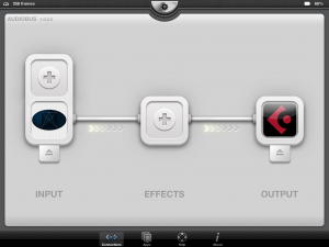 Cube Synth provided Audiobus support and this worked well during testing with Cubasis.