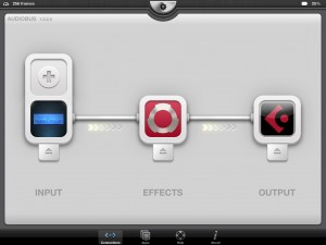 WOW seems to play nicely with other apps via Audiobus.