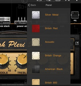 You can even customise the look of your amp to create your own 'amp branding'.