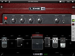 It's not just recording software that runs on a computer; virtual instruments such as synths or guitar amp modelling (as shown here) and virtual effects are also commonplace, whether on the desktop or under iOS.