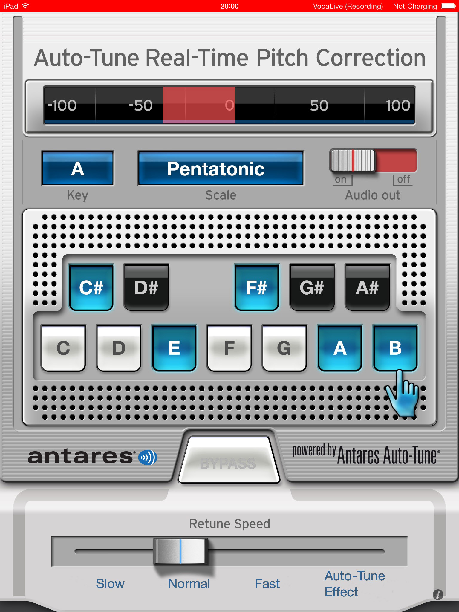 singaling review ios vocal processing app with a friendly face