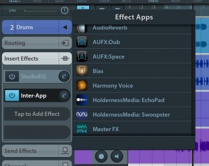Echo Pad is available as an IAA effects app within Cubasis - one of a growing list :-)
