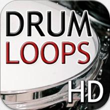 drum loops hd logo