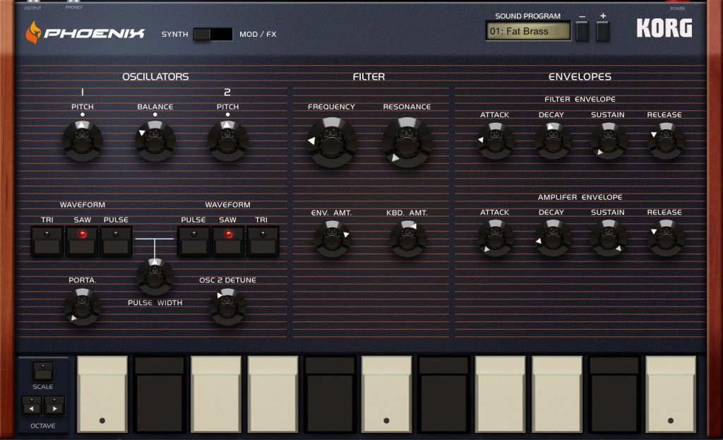 If you want an polyphonic analogue emulation then Phoenix is the choice to make.