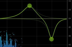 Tap, move or pinch; setting the EQ is easy to do via the touchscreen.