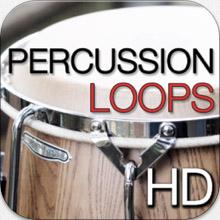 percussion loops hd logo