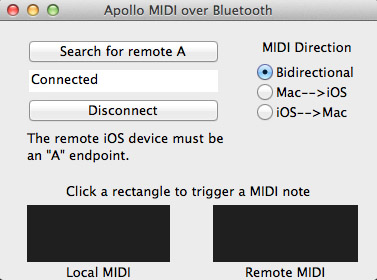 The OSX version now includes a bidirectional option.