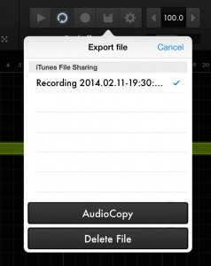 Effectrix allows you to record your processing within the app and then export the audio for use elsewhere.