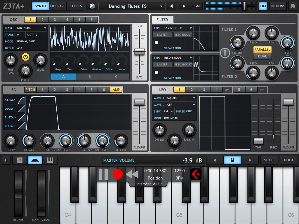 Cakewalk's Z3TA+ synth for iOS....  Do you need it?