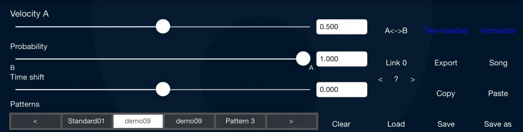 DrumPerfect allows you to add a number of performance elements to your patterns that increase the 'realness' of the performance.