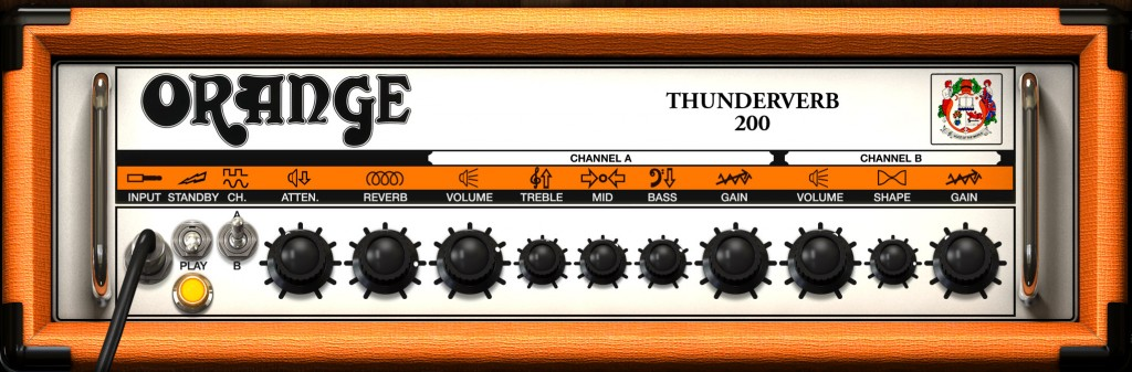 Things can get a little more 'modern rock' with the Orange Thunderverb - add in a dollop of Highway Drive to taste :-)