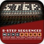 B-Step Sequencer released – MonoPlugs launch step-based MIDI sequencer for iOS