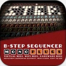 b-step logo