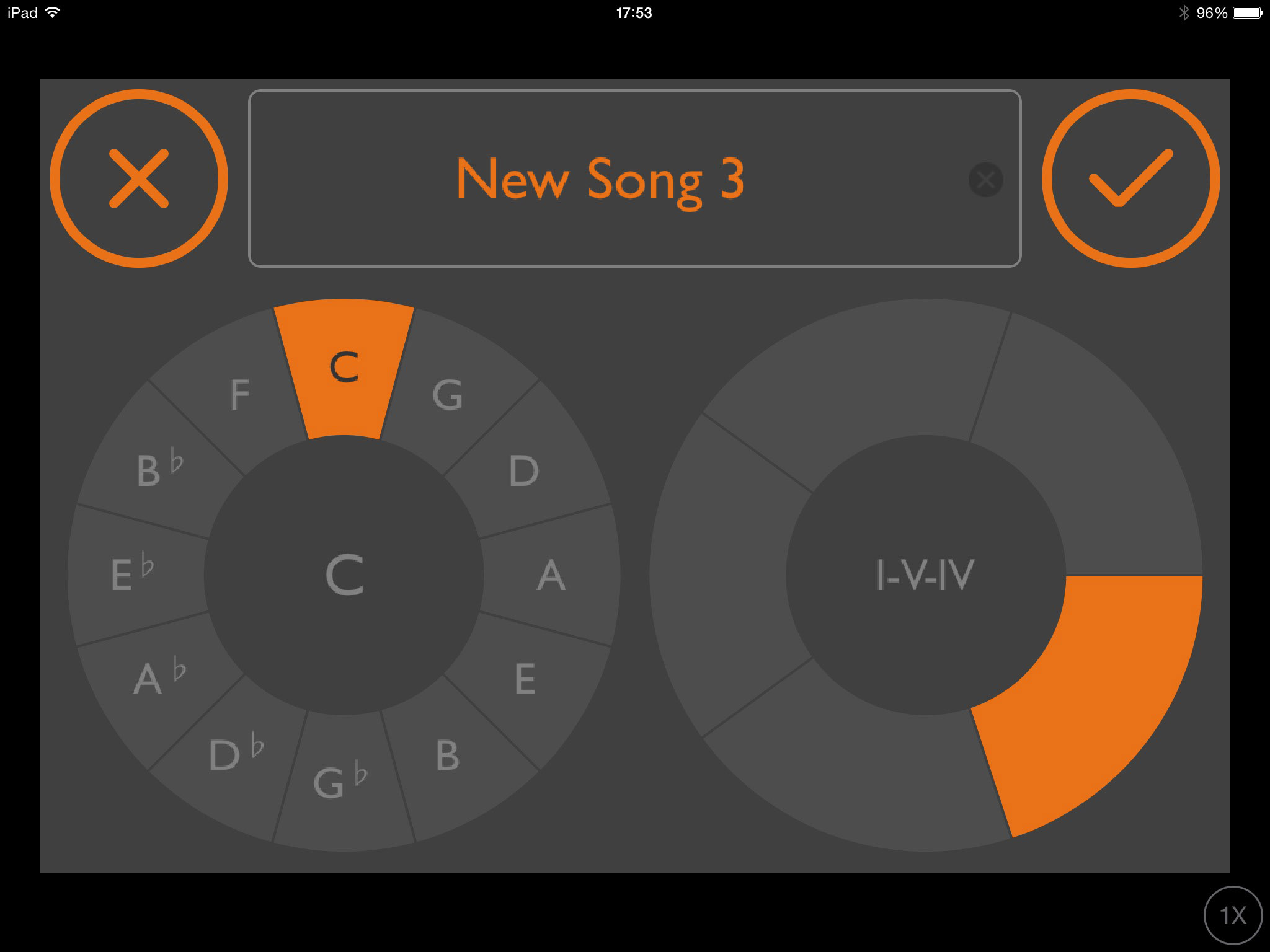 Dot melody review intuitive music creationgeneration app from when you crate a new songproject you get to specify the key and hexwebz Images