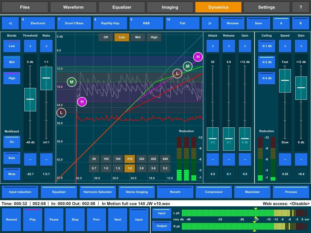 Igor Vasiliev's Audio Mastering
