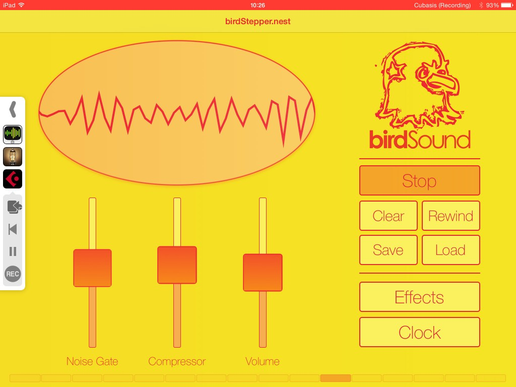 birdStepper - colourful and creative audio effects in an easy-to-use format :-)