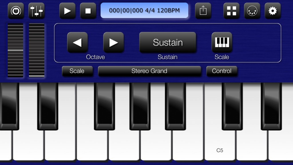 Bismark's bs-16i provides a good palette of basic sounds to work with on both iPhone and iPad.
