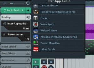 At last the 'missing apps' bug has been fixed when selecting IAA instruments and effects :-)