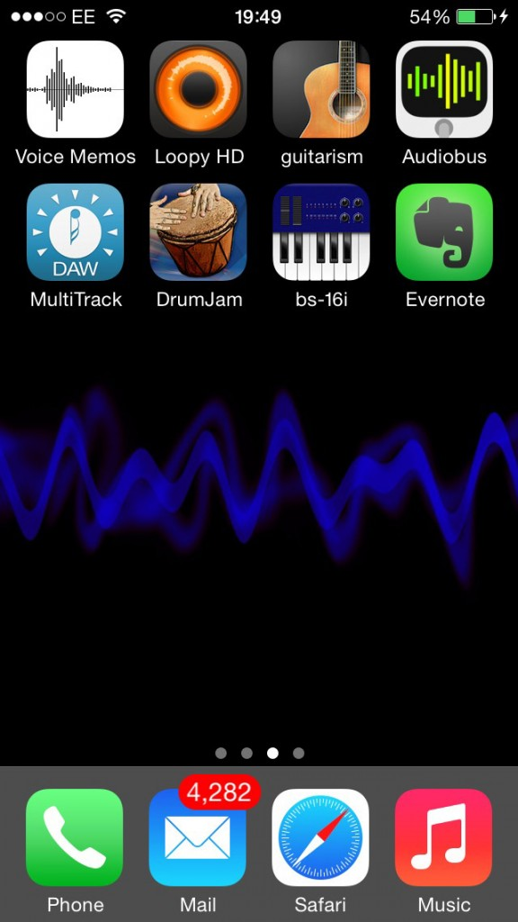 My 'ever-ready' app collection - easy to access, easy to use and always with me.