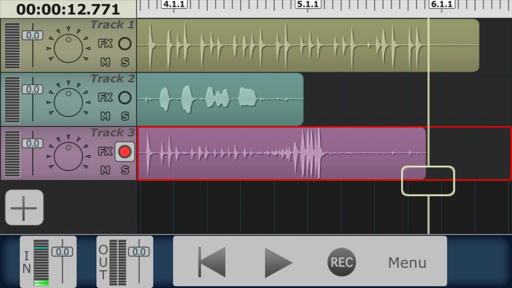 For a streamlined interface that works very well on the iPhone, Multitrack DAW fills my DAW slot.