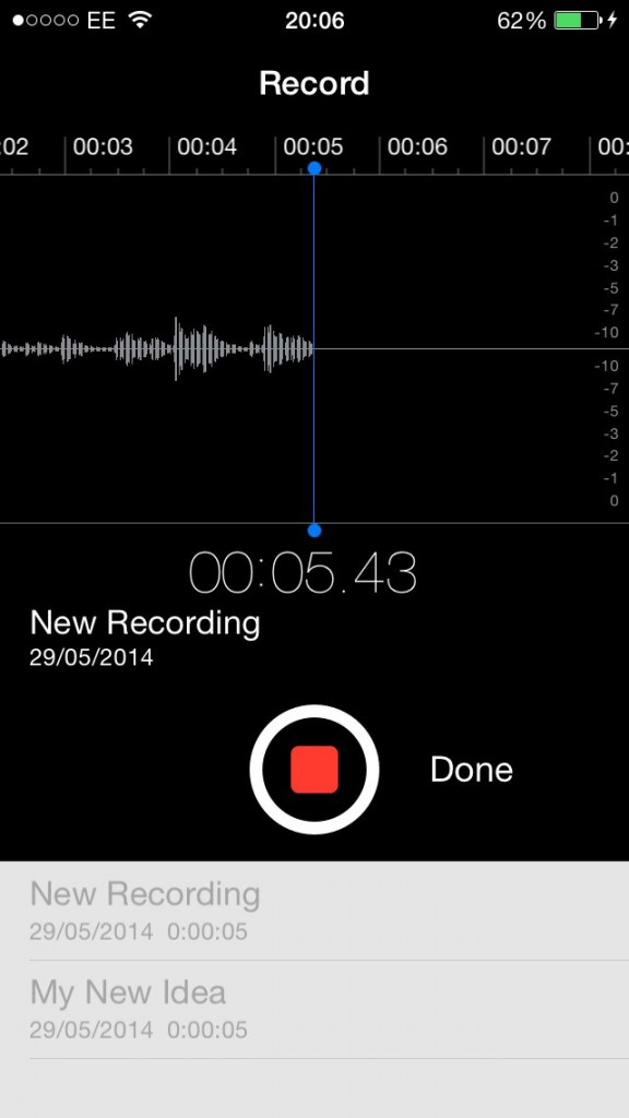 Voice Memos - you hum it, it will record it.