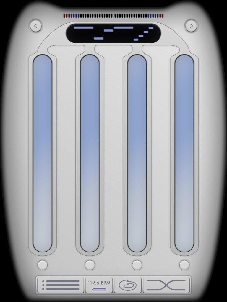Earhoof - a kind of experimental rhythmic performance app.