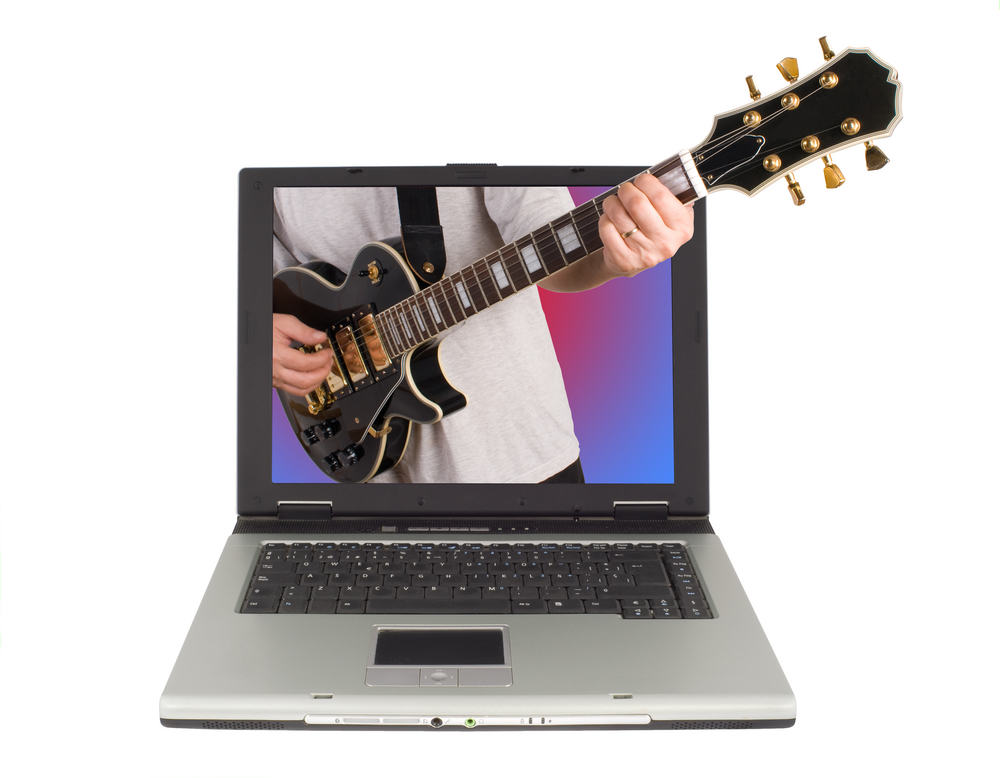 guitar from computer